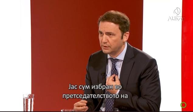 """Според Османи """"метлата"""" на Заев не мете во ДУИ"""