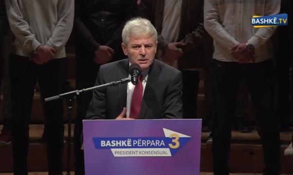 Ахмети: Гласот за Стево е поддршка за концепт кој за пет-десет години ќе овозможи Албанец да биде Претседател на државата