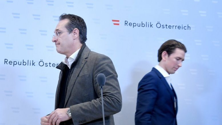 Афера Штрахе: Курц ја распушти австриската Влада и најави предвремени избори