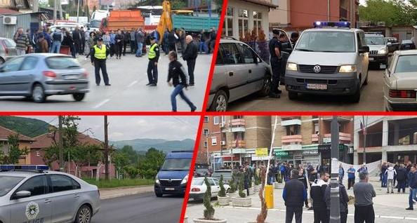 Пукање и бомби на Косово: Специјалците влегуваат во Зубин Поток (ФОТО/ВИДЕО)