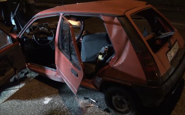 ВОЗНЕМИРУВАЧКИ ФОТОГРАФИИ: Ништо не остана од автомобилот по тешката сообраќајка кај Драчево