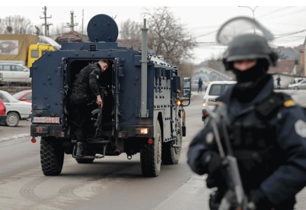 Заврши операцијата на полицијата во северно Косово