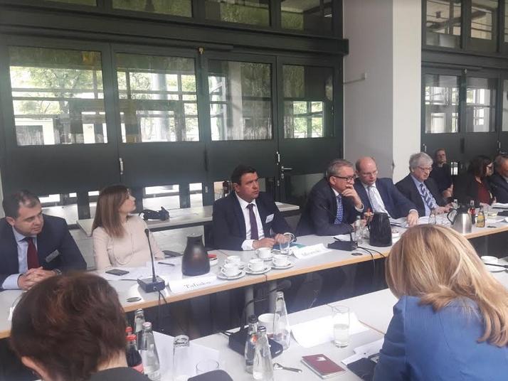 Мицевски на конференција во Берлин- Истакната добрата соработка на ВМРО-ДПМНЕ со Европската Народна Партија