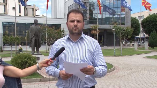 """Здравески: """"Оставка од Јованоски заради морални причини и нови избори за спас на Прилеп"""""""