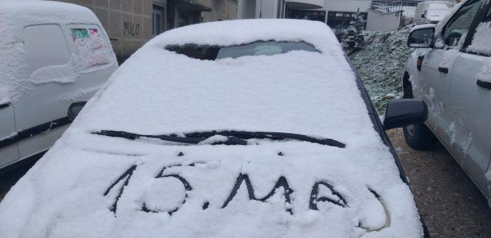 ФОТО: Снег во Црна Гора, УХМР со детали за времето во наредните денови- викендот целосен пресврт и во Македонија