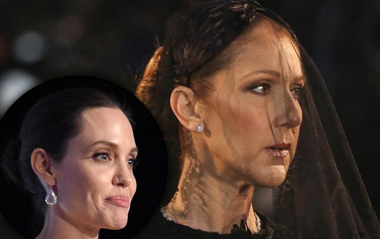 Анџелина Џоли одби да ја глуми Селин Дион