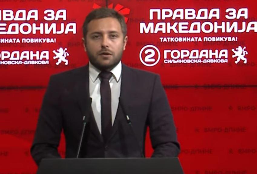 Арсовски: Поради неспособноста на СДСМ и Заев, Македонија не доби датум за преговори со ЕУ