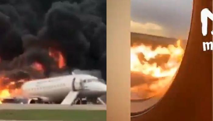 Ќе се наежите од глетката и звуците: Се појави снимка од внатрешноста додека горел авионот во кој удри гром и пеплоса 13 патници (ВИДЕО)