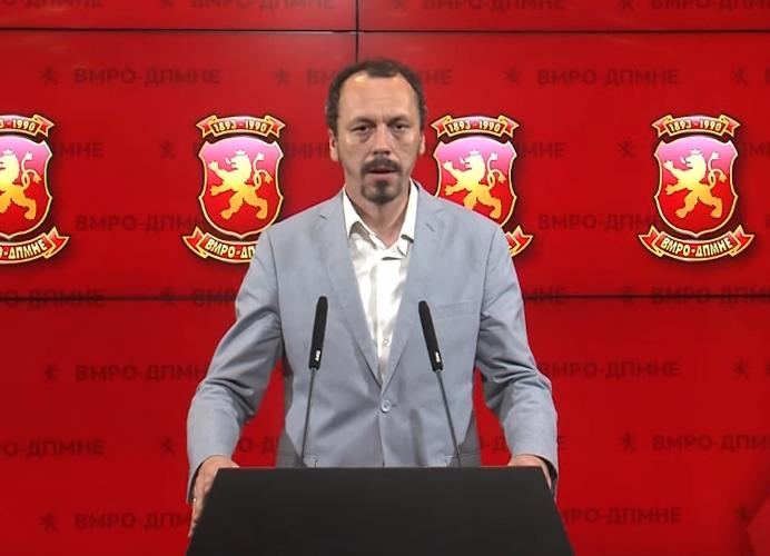 Петрушевски до Костовски: СДСМ по идеологија е комунистичка партија, дали по изјавата на Заев ќе ја смените идеологијата, ќе ги смените ли имињата на плоштадите во Куманово?