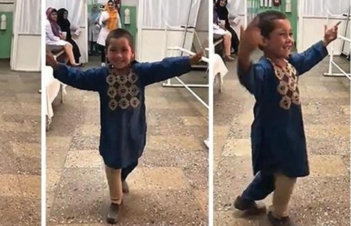 Му ја ампутирале ногата кога имал само 8 месеци: Денес танцува, а неговата среќа е нешто бесценето (ВИДЕО)