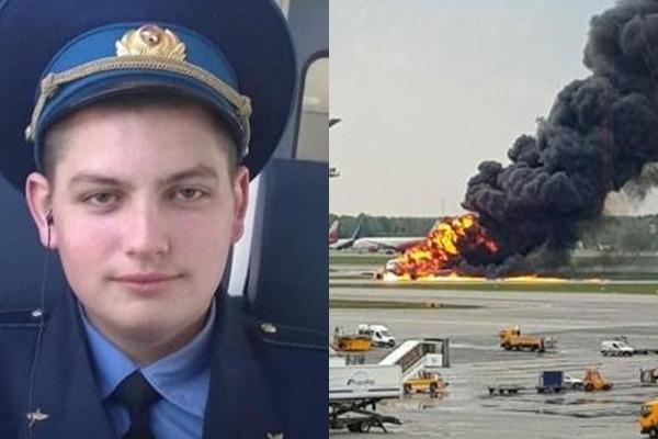 Го прекршил правилото пишувајќи и ги овие зборови на  девојката- само неколку минути подоцна жив изгорел, спасувајќи патници од авионот