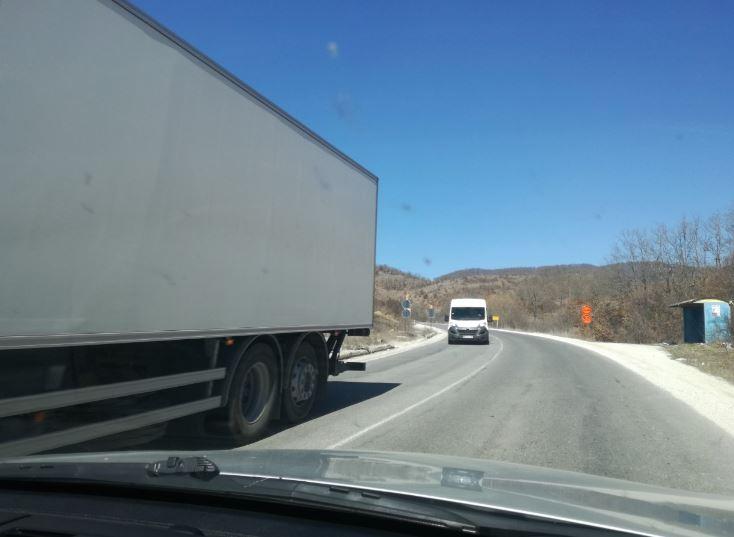 Пуштен за сообраќај патот Кичево-Охрид кај Другово