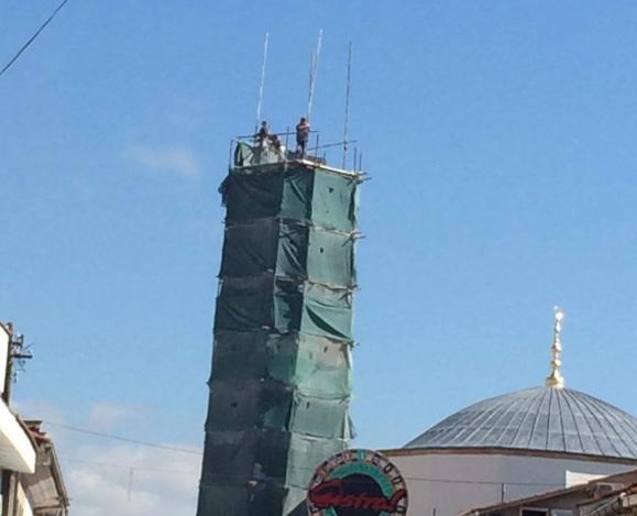 Изборите завршија-граѓаните одбраа: Минарето во Охрид продолжува со градење