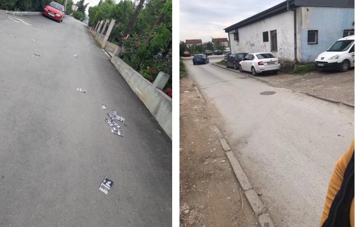 СДСМ го наруши изборниот молк во Гази Баба (ФОТО)