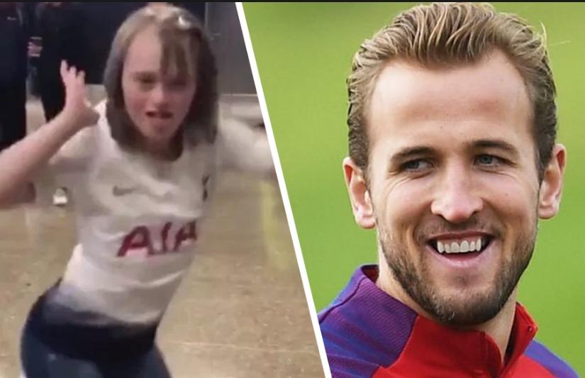 Голем фудбалер, уште поголем човек: Хари Кејн стана херој на девојче со Даунов синдром, еве што направи (ВИДЕО)