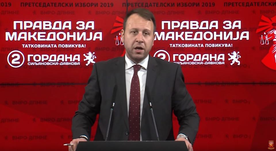 Јанушев: Заев вчера доби тежок шамар поради неговите политики
