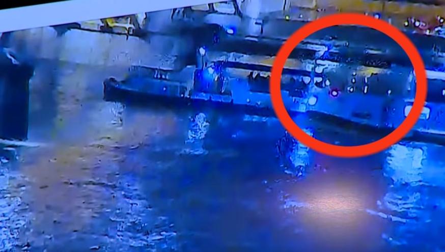 За трагедијата беа доволни 7 секунди: Моментот кога крузерот удира во туристичкиот брод (ВИДЕО)