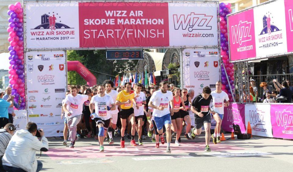 """Скопскиот """"Виз Ер Маратон"""" ќе се трча првиот викенд во октомври"""