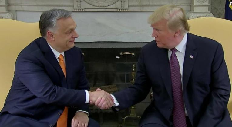 Трамп се сретна со Орбан во Белата куќа