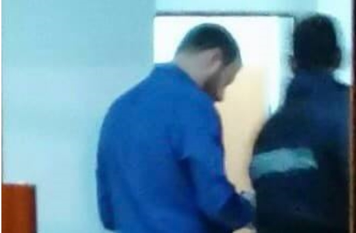 Ексклузивно фото: Павле Богоевски во полициска станица