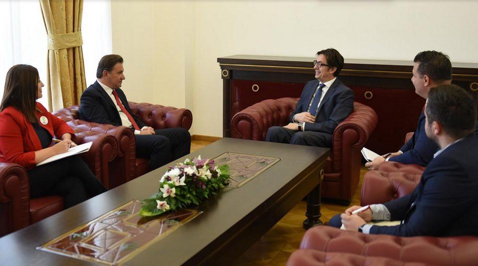 Пендаровски оствари средба со министерот без ресор задолжен за комуникации, отчетност и транспарентност