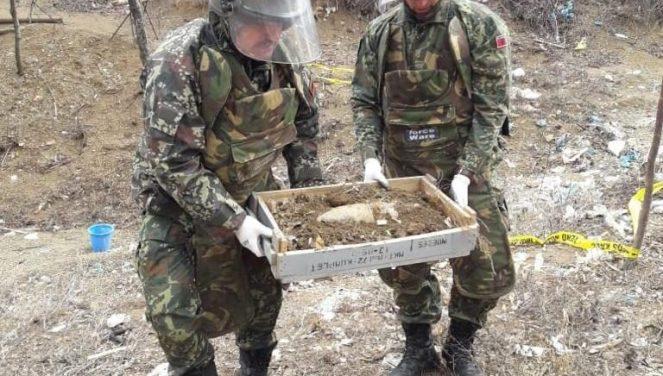 Одделот за антитероризам во МВР пронајде граната, веднаш ќе биде уништена