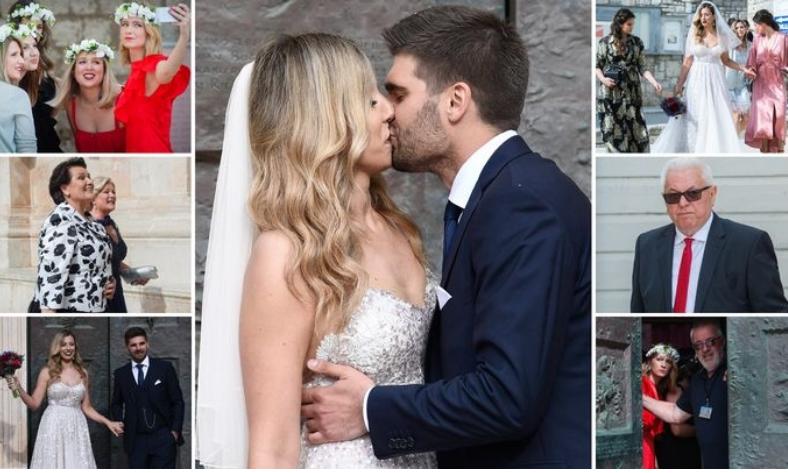 Немаше кој да ја одведе до олтарот: Се омажи ќерката на Иво Санадер