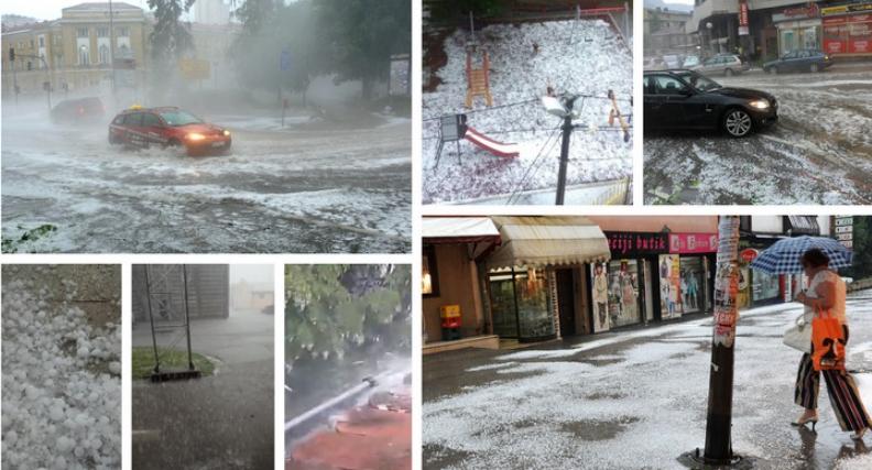 Силно невреме во Србија, 15.000 удари од гром и молњи (ВИДЕО)