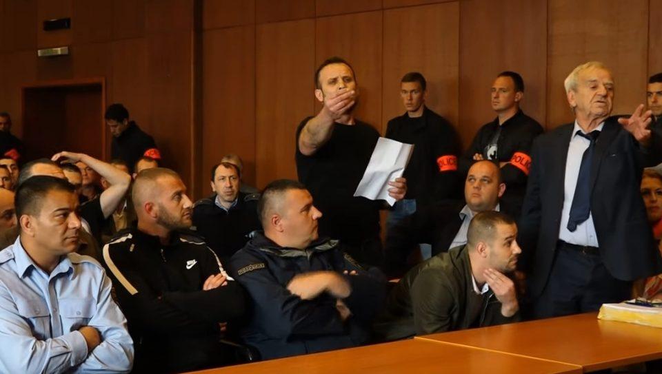 """Тензично на судењето за Диво насеље: """"Заев да ги изнесе доказите- Ова е Албанија, нема да ни судите вие!"""" (ВИДЕО)"""