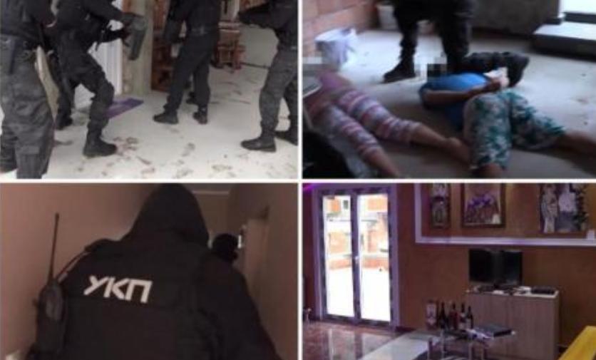 ВИДЕО: Специјалци упаднаа во тајно легло на проституција