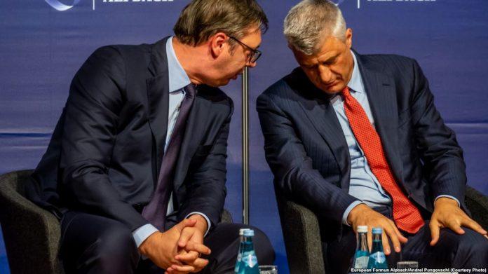 Вучиќ за изјавата на Тачи: Ако нема реакција од ЕУ, знаеме што треба да направиме