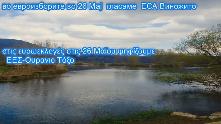 Виножито на евроизбори во Грција: Зборувајте го нашиот македонски јазик, кажете им дека сте Македонци, не плашете се! (ВИДЕО)