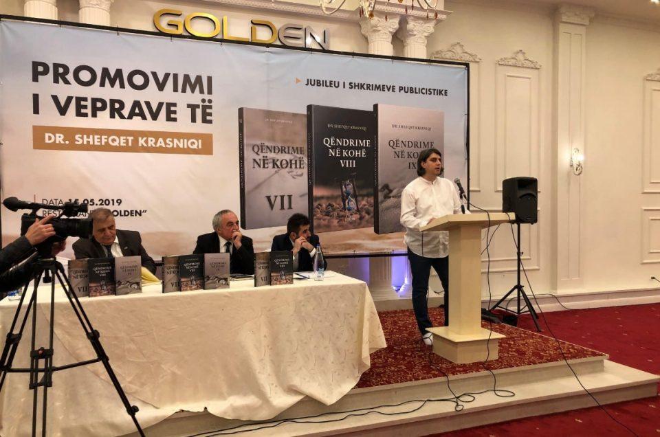 Потпретседателот на СДСМ, Зекири, промовира книга на лице обвинето за поттикнување на тероризам