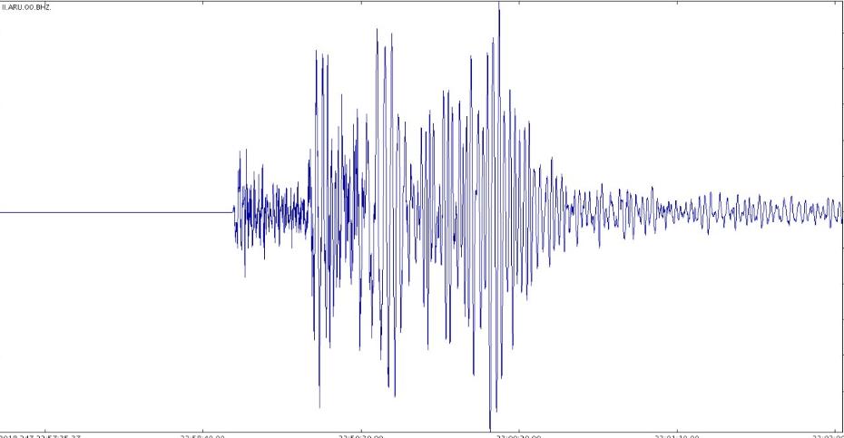 Земјотрес го стресе ноќеска Охрид, почувствуван и во околината