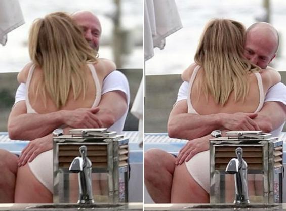 ФОТО: Џејсон Статем и сопругата уживаат во Италија