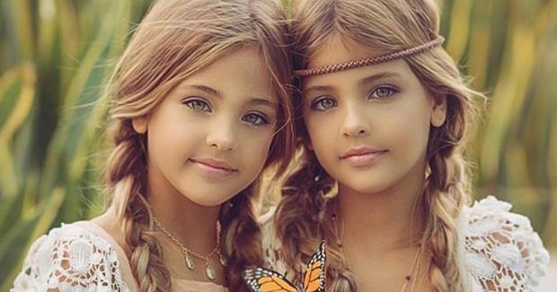 Ава Мари и Леа Роуз прогласени за најубави близначки во светот (ФОТО)