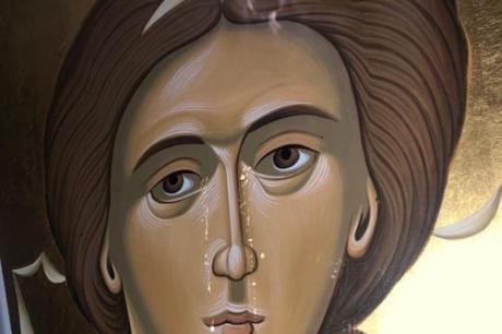 """Чудо во манастирот """"Крка"""": Плаче икона на свети Архангел Михаил"""