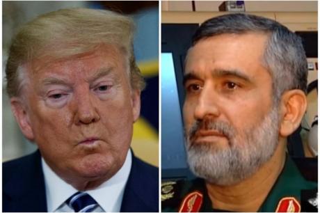 Генералот на Иран со порака до Трамп: Можевме да ви го срушиме и авионот со 35 луѓе, но се воздржавме