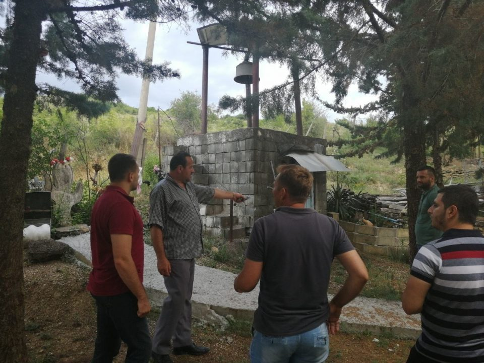 ОК на ВМРО-ДПМНЕ од Ѓорче Петров во посета на Манастирот Рожденство на Пресевета Богородица во Долно Кучково