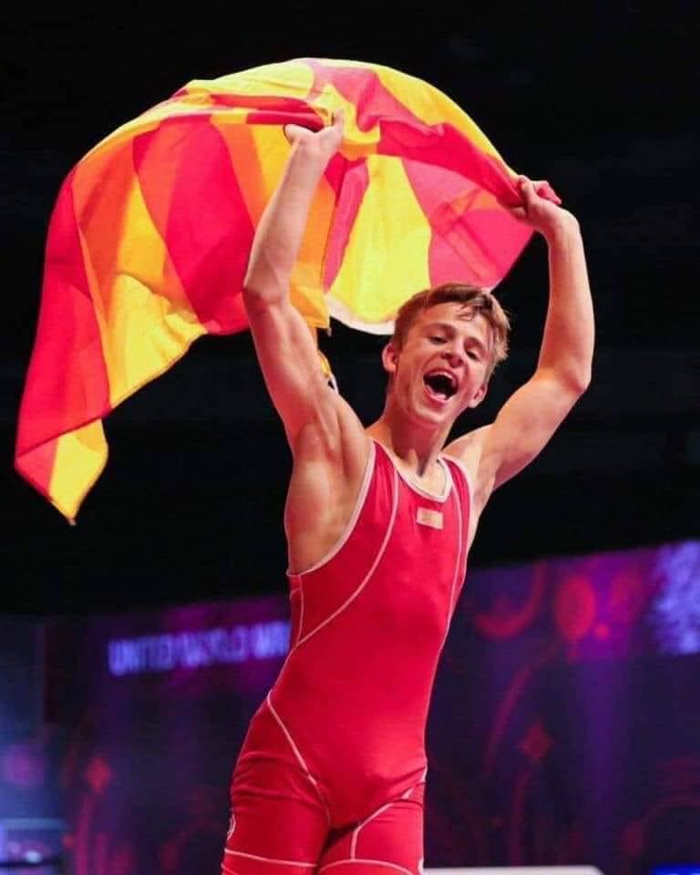 Македонија има Европски првак во борење