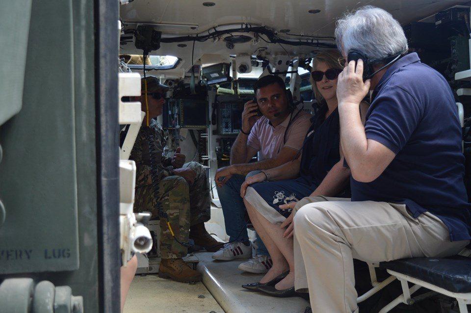 ФОТО: Во Кавадарци се одржа презентација на вооружување и опрема од македонската армија и армијата на САД