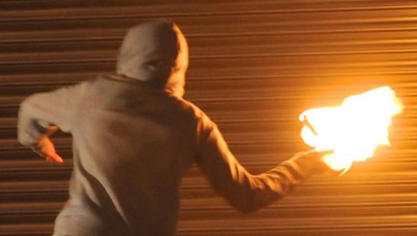 Фрлиле запалива течност пред кафе бар во Скопје- нема повредени