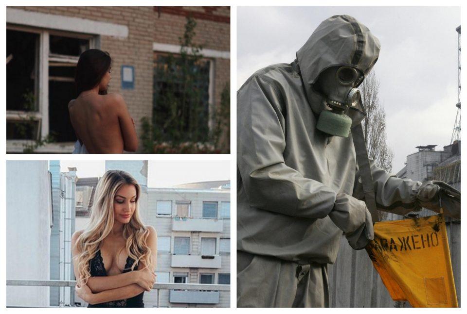 Ќе направат сѐ за лајкови: Разголени манекенки позираат во Чернобил, авторот на серијата удри по нив! (ФОТО)