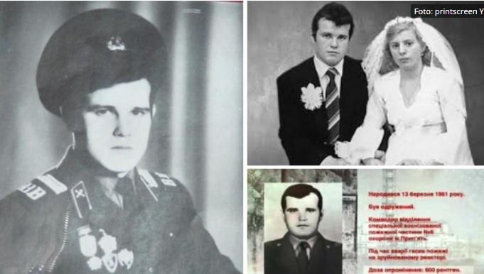 Вистинскиот херој од Чернобил: Пожарникар бил радиоктивен и по смртта, па го затвориле во метален сандак и закопале во бетон (ВИДЕО)