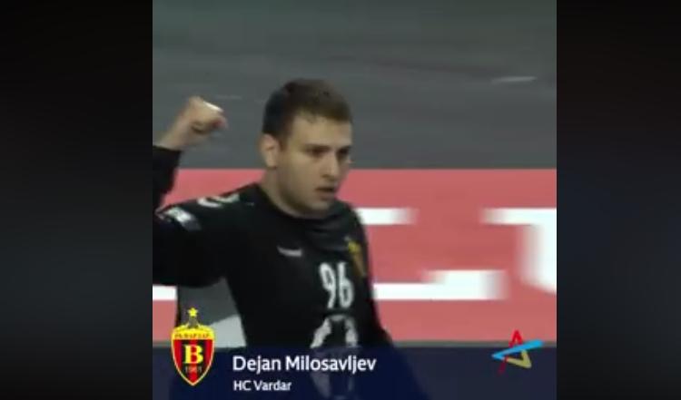 Број 1 одбрана за минатата сезона според фановите е за Дејан Милосављев (ВИДЕО)