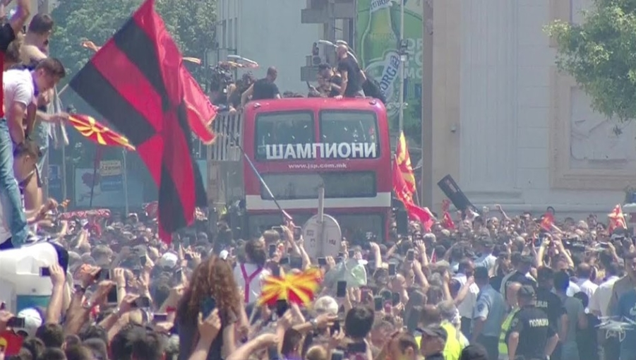Македонска Парада на гордоста: Шампионските срца заслужуваат величествен пречек!
