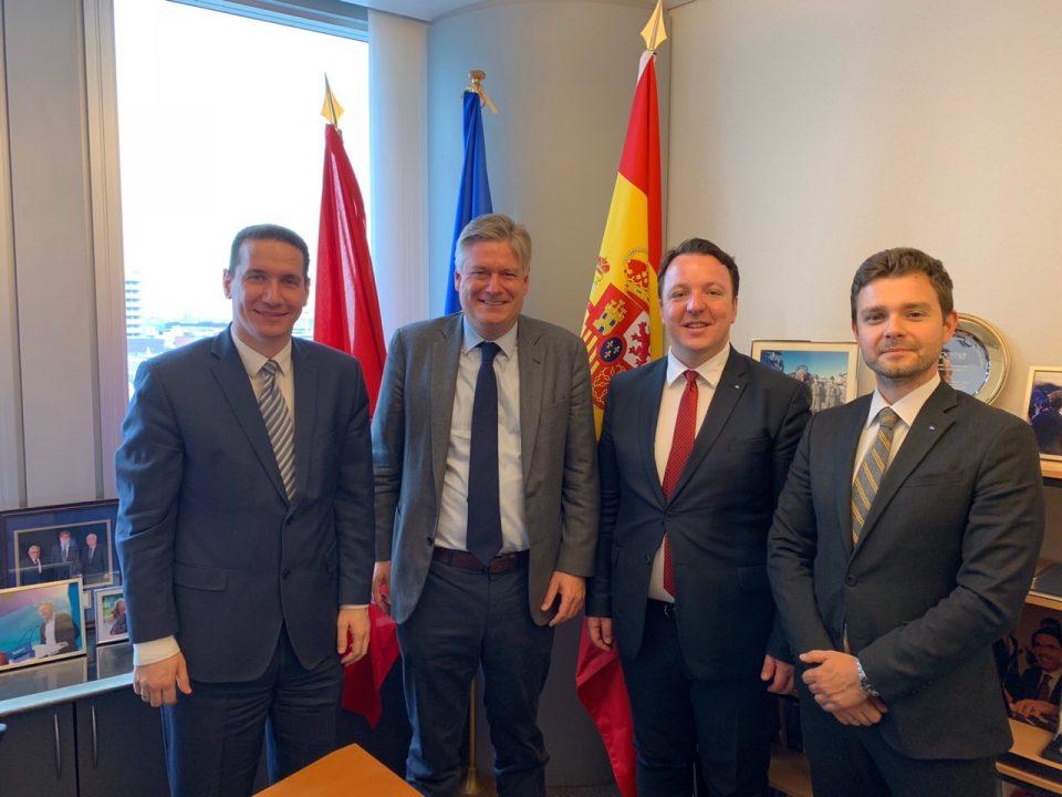 Делегација на ВМРО—ДПМНЕ оствари средба со Генералниот Секретар на Европската народна партија