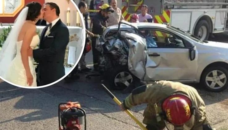 """ФОТО: Фудбалерот на Севилја со """"Мустанг"""" уби брачен пар на денот на нивната свадба"""