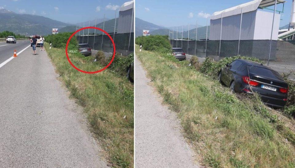 (ФОТО) Два автомобила излетаа од автопатот Тетово – Скопје