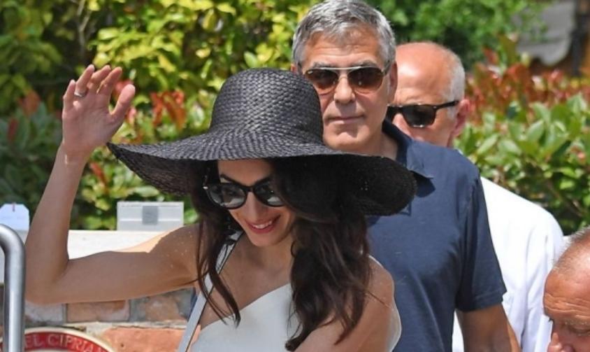 Клуни со години е најголем заводник, но неговата сопруга го засенува со својата убавина (ФОТО)
